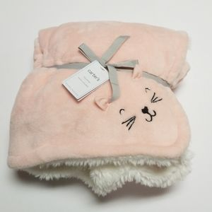 Carter Kitty Plush Blanket
